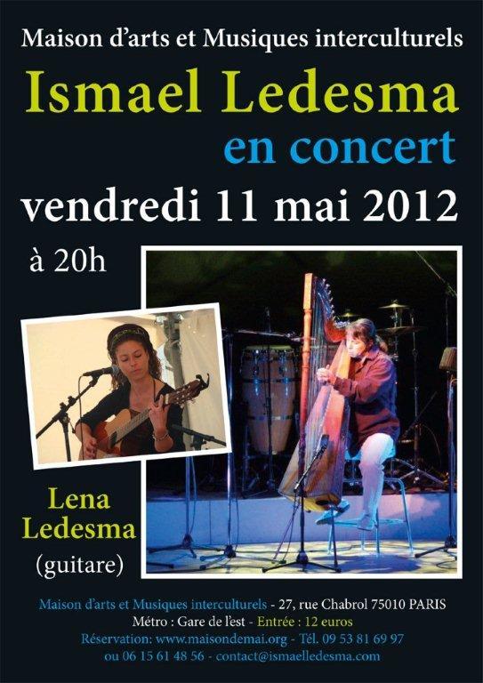 Concert d'Ismael Ledesma 11 Mai 2012 ismael-2