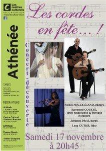 Concert samedi 17 Novembre à Rueil-Malmaison afficheathenee2-212x300